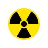 Radiation hazard sign symbol Stock Images