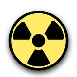 Radiation hazard warning sign concept poster. High quality graphic poster. You can use this picture for all your needs such as web pages, posters, presentations Vector Illustration