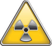 Radiation icon Royalty Free Stock Image