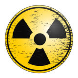 Radiation icon Royalty Free Stock Photography