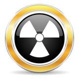 radiation icon Royalty Free Stock Images