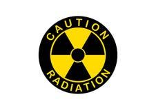 Radiation icon, radiation symbol Stock Images