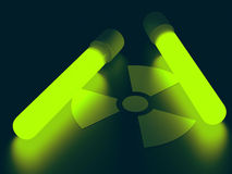 Radiation Light Stock Photo