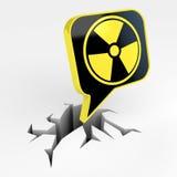 Radiation mark Stock Photos