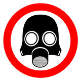 Radiation mask Royalty Free Stock Photography