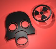 Radiation mask Royalty Free Stock Photo