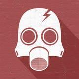 Radiation mask symbol Stock Photography