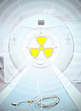 Radiation in medicine Stock Images