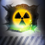 Radiation Overload. A Radiation Overload. Vector Illustration Stock Photography