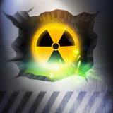 Radiation Overload. A Radiation Overload. Vector Illustration Stock Photography