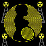 Radiation and Pregnancy Stock Photo