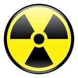 Radiation Round Sign Icon Royalty Free Stock Images