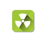 Radiation Safety Sign Icon Ecology Environment Care Stock Photos