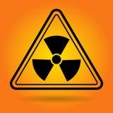 Radiation Safety Sign Icon Royalty Free Stock Photo