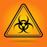 Radiation Safety Sign Icon Stock Photo