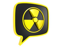 Radiation Sign Royalty Free Stock Photography
