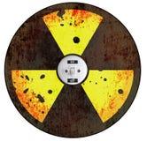 Radiation sign Royalty Free Stock Photos