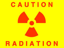 Radiation sign vector illustration