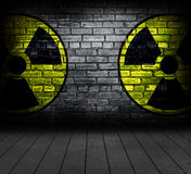 Radiation sign. Stock Image