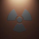 Radiation sign Royalty Free Stock Image