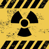 Radiation signal Royalty Free Stock Photo