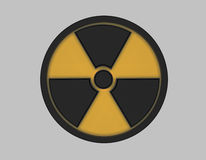 Radiation symbol Royalty Free Stock Photography