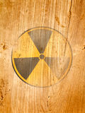 Radiation symbol Royalty Free Stock Photo