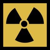 The radiation vector icon. Radiation symbol. Stock Photos