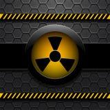 Radiation warning,  eps 10 Stock Photography