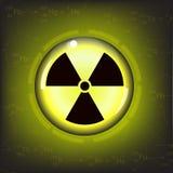 Radiation warning symbol vector Stock Photo