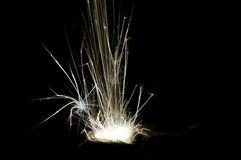 Radiative spark Stock Photography