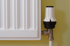 Radiator On Royalty Free Stock Image
