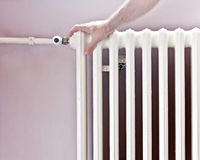 Radiator central heat energy Royalty Free Stock Photography