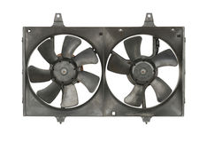 Radiator cooler fan Royalty Free Stock Photos