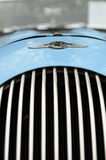 Radiator grill of classic car Royalty Free Stock Image