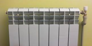 Radiator for heating  premises. Radiator for heating residential and office premises Stock Photo