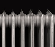 Radiator. Household cast iron radiator Stock Image