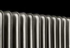 Radiator. Household cast iron radiator Royalty Free Stock Photo