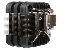 Radiator passive cooling of computer processor Royalty Free Stock Image
