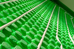 Radiator radiant heating Stock Images
