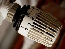 Radiator regulator Royalty Free Stock Photo