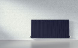Radiator in a room Royalty Free Stock Photography