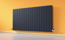 Radiator in a room Royalty Free Stock Photos