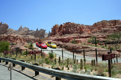Radiator Springs Racers Stock Photography