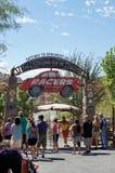 Radiator Springs Ride at Disneyland Stock Image