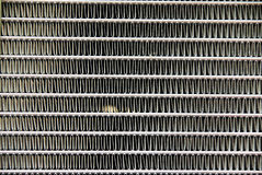 Radiator Texture. The texture of a vehicle radiator in the engine Royalty Free Stock Photo