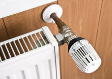 Radiator thermostat Royalty Free Stock Photo