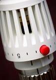 Radiator thermostat Stock Photos