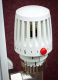 Radiator thermostat Stock Photography