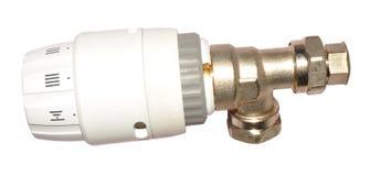 Radiator Thermostat Valve Royalty Free Stock Photography